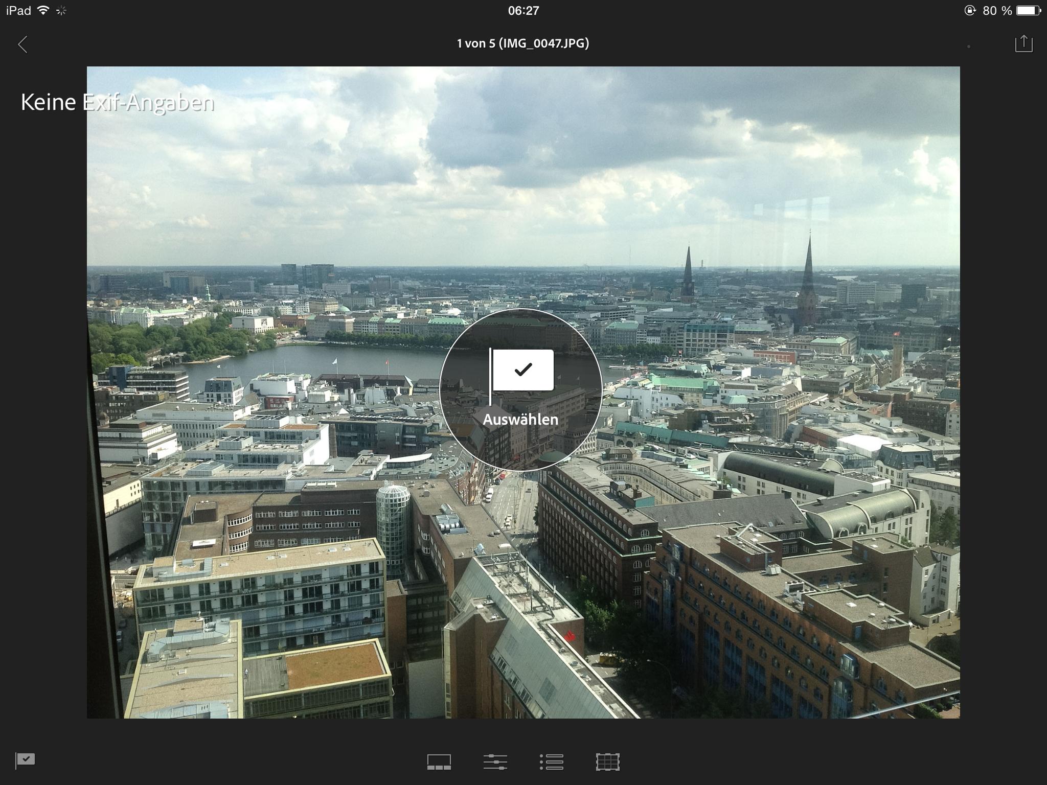 Lightroom Mobile-App Erfahrungen, 03_LightroomMobile_Metadaten1