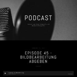 Uncle Bob, Podcast zum Thema Bildbearbeitung abgeben