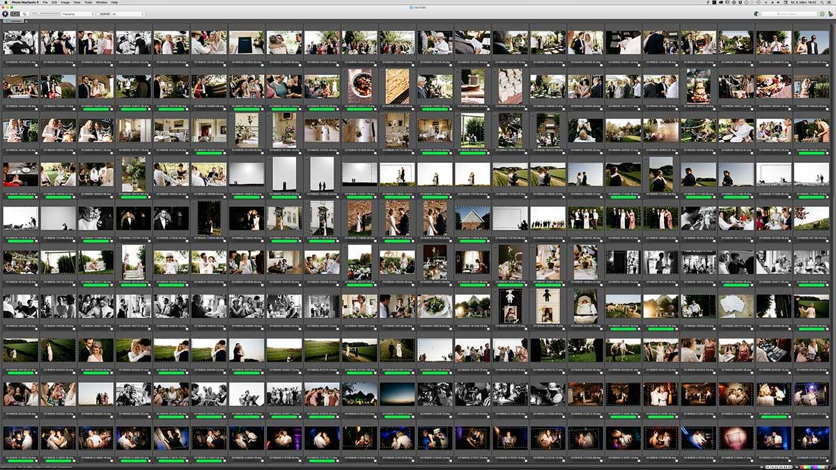 Lightroom Workflow für Hochzeitsfotografen