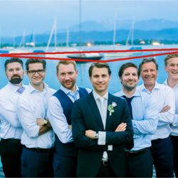 Tipp für Gruppenfotos, Männer-Gruppenfoto