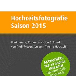Studie Hochzeitsfotografie Saison 2015 - Cover